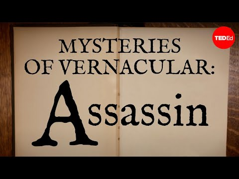 Video image: Mysteries of vernacular: Assassin - Jessica Oreck