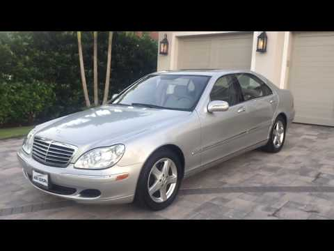 2004 Mercedes Benz S500 Sedan Review and Test Drive by Bill - Auto Europa Naples