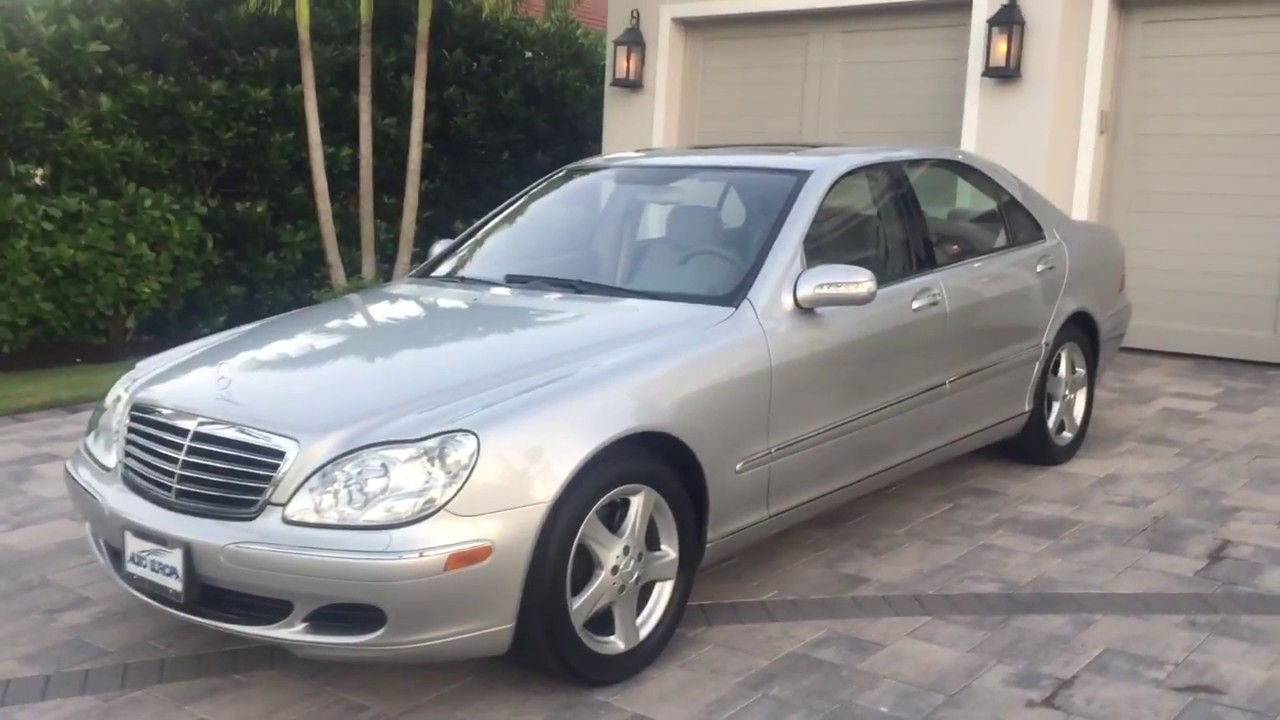 2004 Mercedes Benz S500 Sedan Review and Test Drive by ...