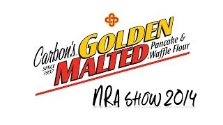 Carbon's Golden Malted At Nra Show 2014