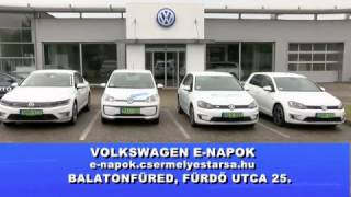 Volkswagen e-napok Balatonfüreden - beharangozó