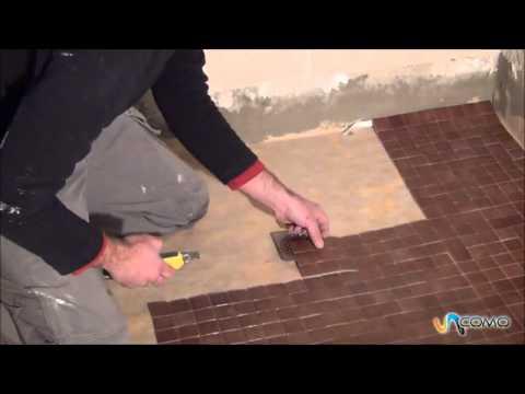 Colocar azulejos del ba o reformas ba o youtube for Pared de bano de concreto encerado