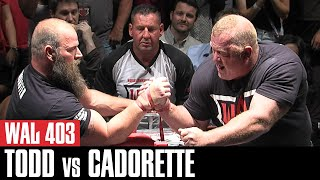 WAL 403: Jerry Cadorette vs Michael Todd