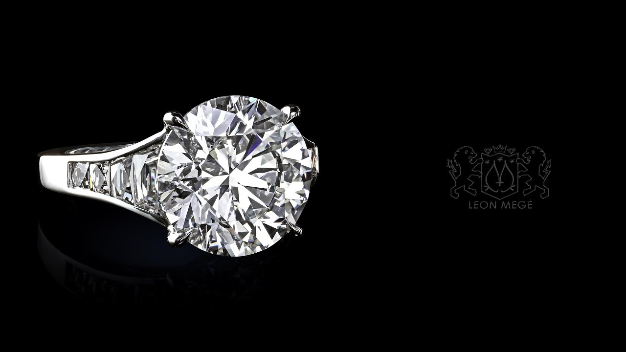 Custom Made Engagement Ring By Leon Megé R7194