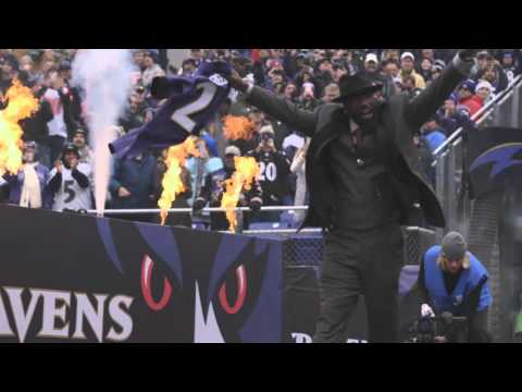 Crowd Gets LOUD For Ed Reed Tunnel Intro