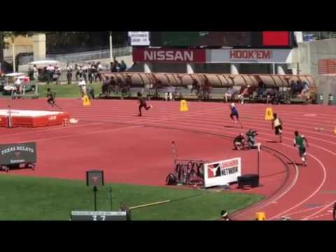 Texas Relays 4x400m relay Prelims Heat 1