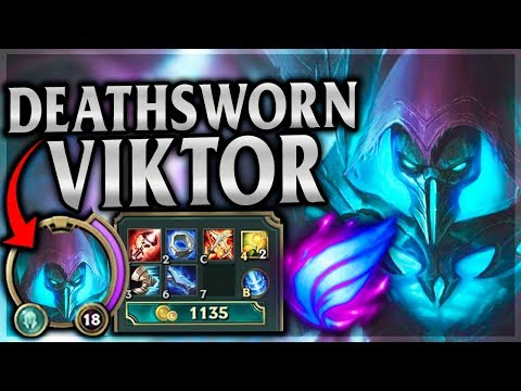 MOST SATISFYING DEATH RAY MULTI KILL?! - Death Sworn Viktor Mid - League of Legends Commentary