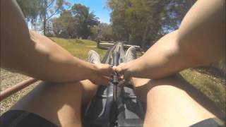 Jungle Park Tenerife Bob Sled POV 2014