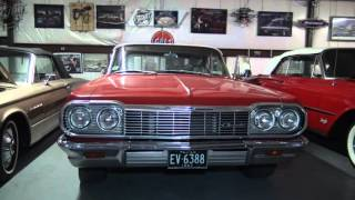 1964 Chevy Impala 427 roller 550HP 4-Speed Convertible Custom classic car with musclecar guts