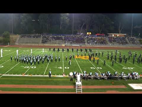 Olympian High School Eagle Band at Mt Carmel Field Tournament 2017