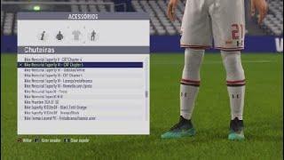 d61a83709 FIFA 18 nova Nike mercurial cr7 top de mais ...