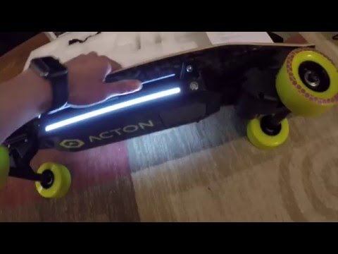 Acton Blink Board Unboxing -- Electric SKATEBOARD