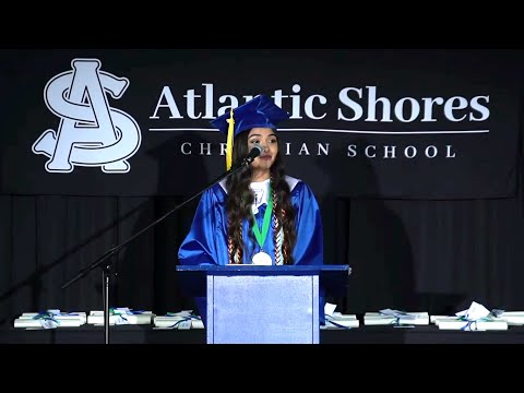 Shannon Prakash's Graduation Speech | Atlantic Shores Christian School