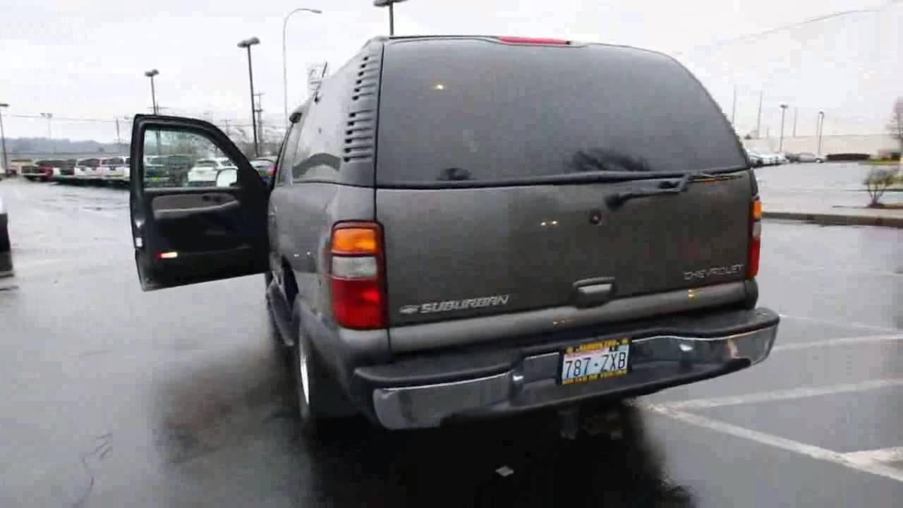 2001 2003 2006 Chevrolet Suburban 1500 Lt Workshop Service
