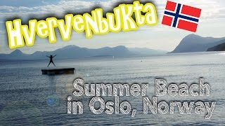 Where To Swim In Oslo,norway 1# Hvervenbukta Beach