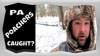 PA POACHERS CAUGHT | PA Deer Land Management Vlog #1