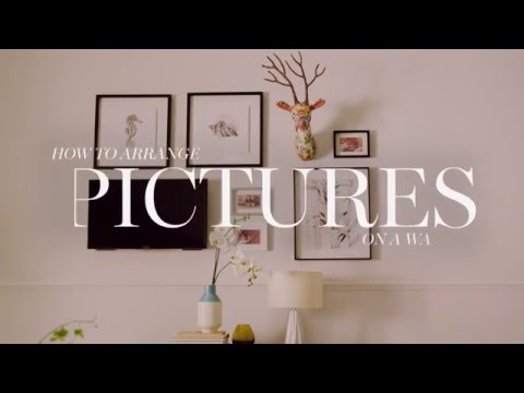 M&S Home: How To Arrange Pictures On A Wall