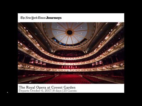 The Royal Opera at Covent Garden