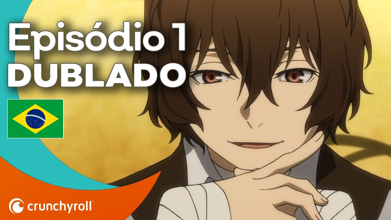 BUNGO STRAY DOGS Ep.1 | DUBLADO