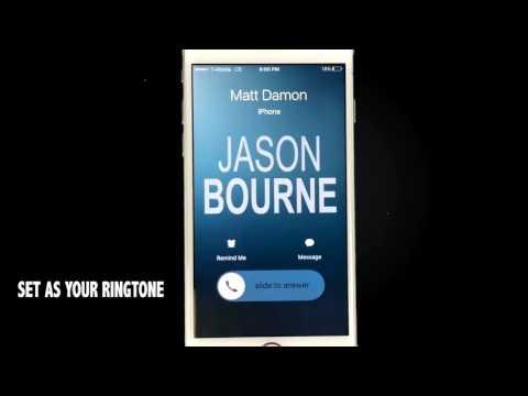 Jason Bourne Theme Song Ringtone