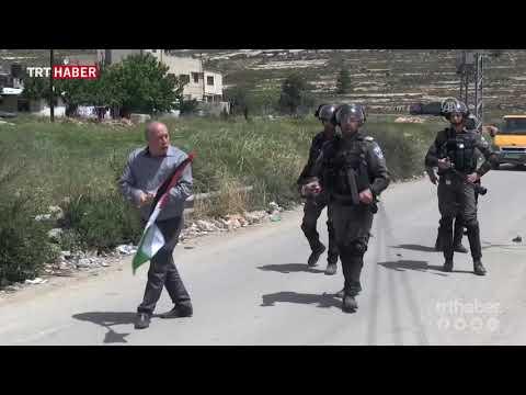 İsrail askerlerinden Filistin Esirler Günü gösterilerine müdahale