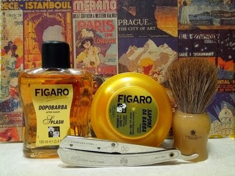 Parker SRX, Figaro Monsieur soap and aftershave