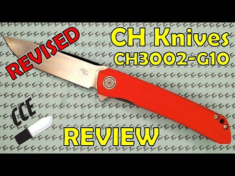 EDITED Review CH Knives CH3002-G10 With D2 Steel - $29.99USD