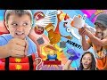 LOSERS GO BOOM Challenge! 😄 FGTEEV Toys vs. TP Launcher (FV Family Funny Game Night)