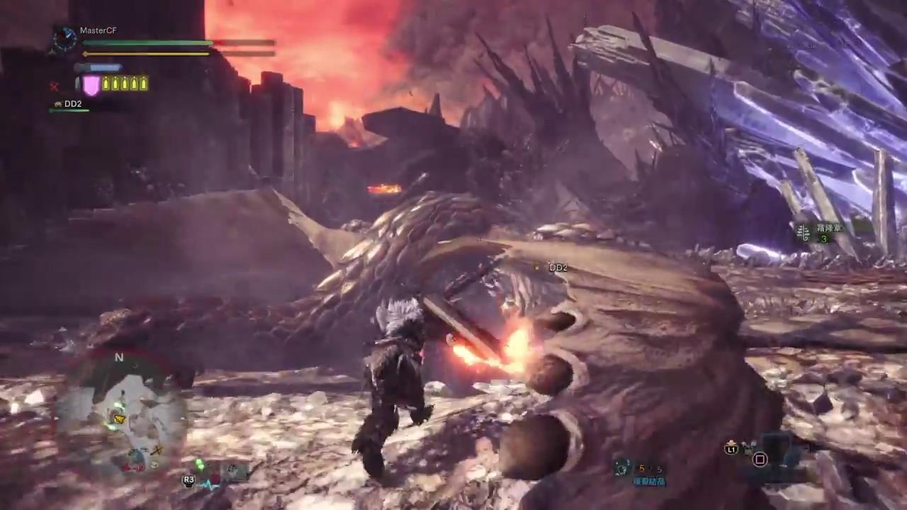 奇襲燎原爆鱗龍.狩獵爆鱗龍《Monster Hunter World | 魔物獵人世界》Gameplay Walkthrough - YouTube