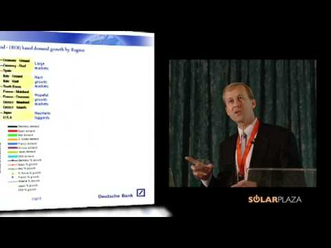 The Wall Street translation of the Solar PV industry (Stephen O'Rourke) - Part 2 of 3