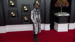 Roddy Ricch on the Red Carpet I 2021 GRAMMY Awards