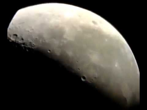 Celestron astromaster eq telescope view of the moon craters