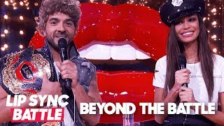 Luis Fonsi & Joan Smalls Go Beyond the Battle | Lip Sync Battle