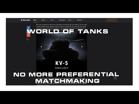 wot preferential matchmaking changes
