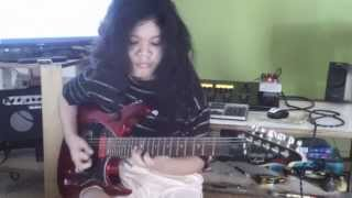 Yngwie-Baroque & Roll- Cover by 13years old Divaldi Addina (HD)