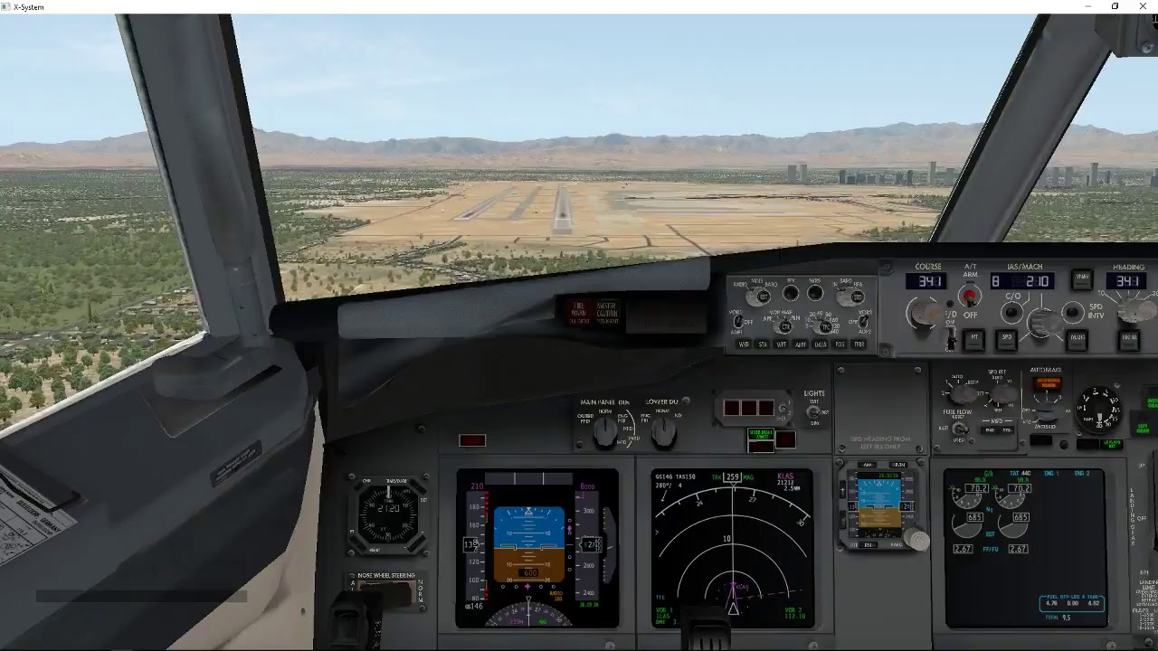x plane 11 salt lake city to las vegas live on vatsim. Black Bedroom Furniture Sets. Home Design Ideas