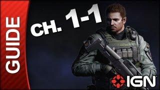 Resident Evil 6: Chris Redfield Campaign Walkthrough - Chapter 1 pt 1