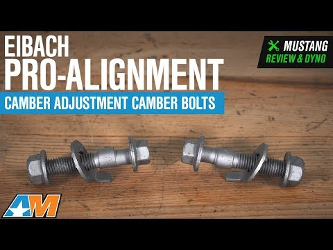 1994-2004 Mustang Eibach Pro-Alignment Camber Adjustment Camber Bolts Review & Install