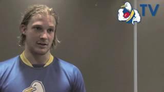 Josh Newman - Round 1 post-game