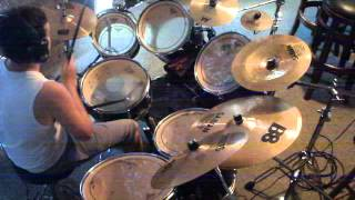 Machine Gunn B-rad - Say Goodnight by Bullet for my Valentine drum cover