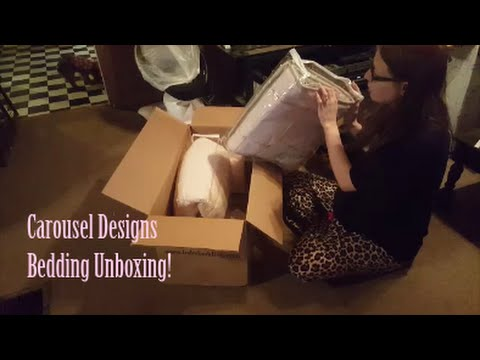 Carousel Designs | Cib Bedding Unboxing