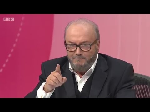 George Galloway on Question Time after Chilcot Report - 7th July 2016