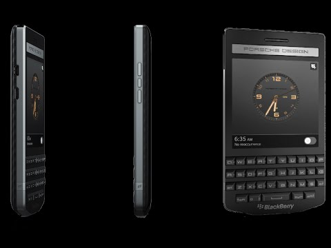 why is blackberry porsche so expensive could unveiled early