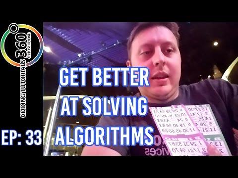 Get Better at Solving Algorithms | Ask a Dev. Episode 33