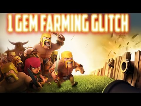 GRATIS FARMEN für 1GEM ▲ BESTER GLITCH EVER NO CHEAT ▲ CLASH of CLANS