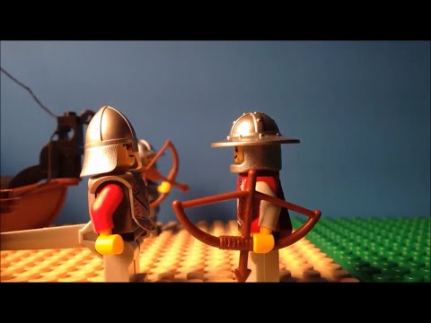 The Battle of Hastings: Lego Stop Motion