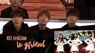 Download Video BTS reaction to GFRIEND @ M.B.C Music Festival MP3 3GP MP4