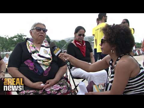 Climate March: Dismantling of National Monuments Threatens Native American Tribes