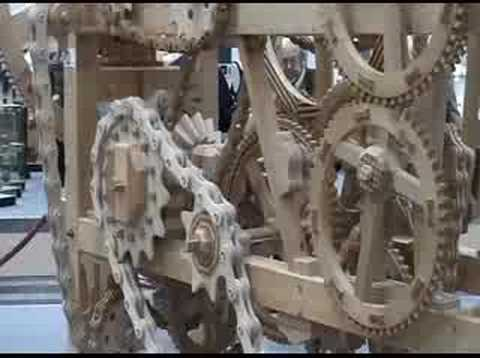 incredible wood machine - Zahnradmaschine rein aus Holz