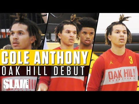 Cole Anthony GOES OFF for 26 in Oak Hill Debut!🔥 | SLAM Highlights